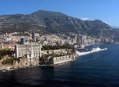 Mosaic Photos from Europe and North America, (Click the Photos): Musée Océanographique de Monaco