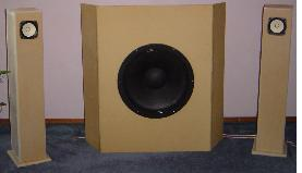 DIY Fostex FE127E Sealed Bipole Speaker Project