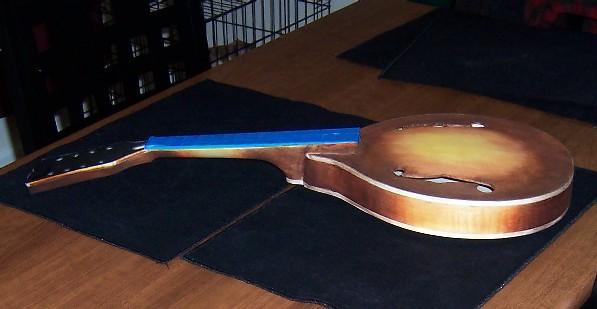 Mandolin making finished staining the mandolin solutioingenieria Images