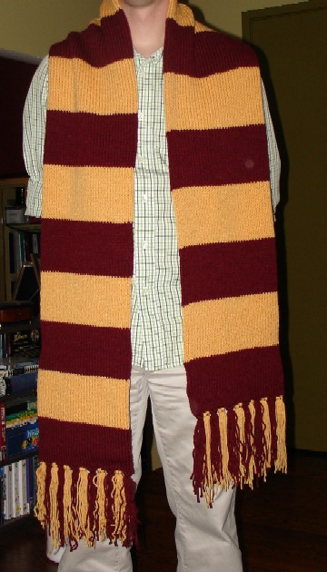 Free Knitting Pattern For Harry Potter Scarf : on the needles: Harry Potter Scarf