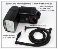 Canon Flash Auxillary Sync Mod