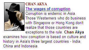 question 3 why is corruption so endemic in indonesia The issue of political corruption in indonesia continues to make daily headlines in the indonesian media and generates much heated debate and fierce discussion in academic circles scholars have continuously searched for answers to the question whether corruption in indonesia has its roots in the.