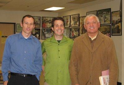 Michael Rochmes, Jason Neville, and Nativo Lopez