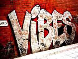Vibes graffiti