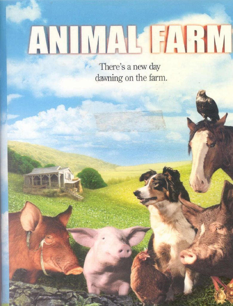 """the animal revolution in animal farm a movie by john stephenson Astonished by their success, the animals hurry to destroy the last remaining evidence of their subservience: chains, bits, halters, whips, and other implements stored in the farm buildings after obliterating all signs of mr jones, the animals enjoy a double ration of corn and sing """"beasts of england"""" seven times through, until it is time to sleep."""