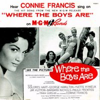 〈Where The Boys Are〉是 Connie Francis 的名曲
