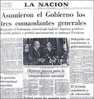 La Nación - 25-03-76