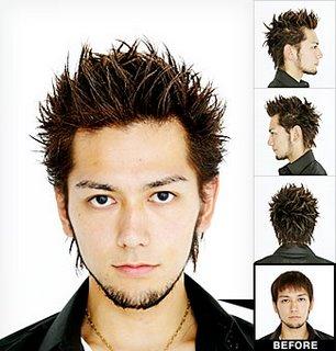 Spiky Hair Style