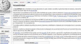 Ejemplo de Wikipedia