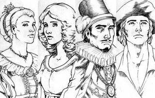 graphic classics comics sketches