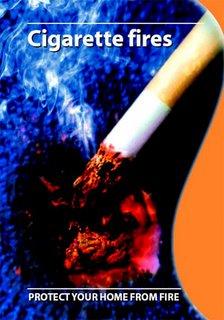 Cigarette fires