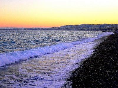 Baie des Anges, West: Promenade des Anglais