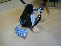 my son's landsel(satchel?)