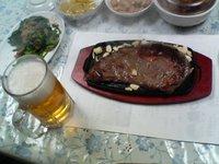 a steak