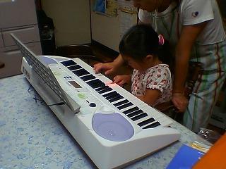 a small piano