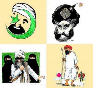 caricaturas ofensivas para los extremistas de siempre