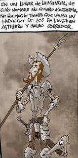 El Quijote, visto por el Hombre Que Pía, proximamente...