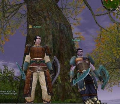 Tsumein y Baalberith posan para la imagen
