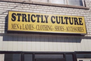 strictly culture in a roots radics sense of the word