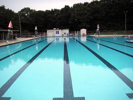 Huntington Masters Swim Team Early Morning At Dix Hills Pool 8 31 06