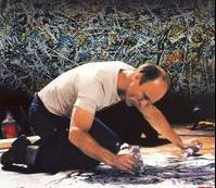 Ed Harris as Jackson Pollock