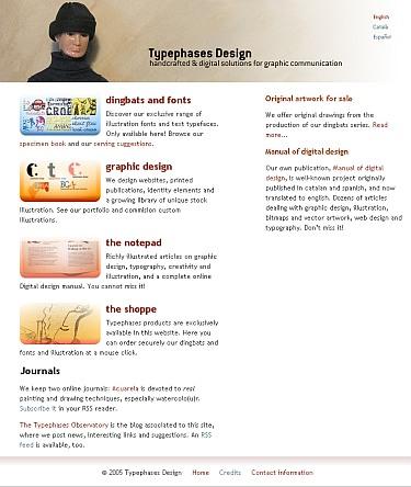 Visitar el sitio de Typephases