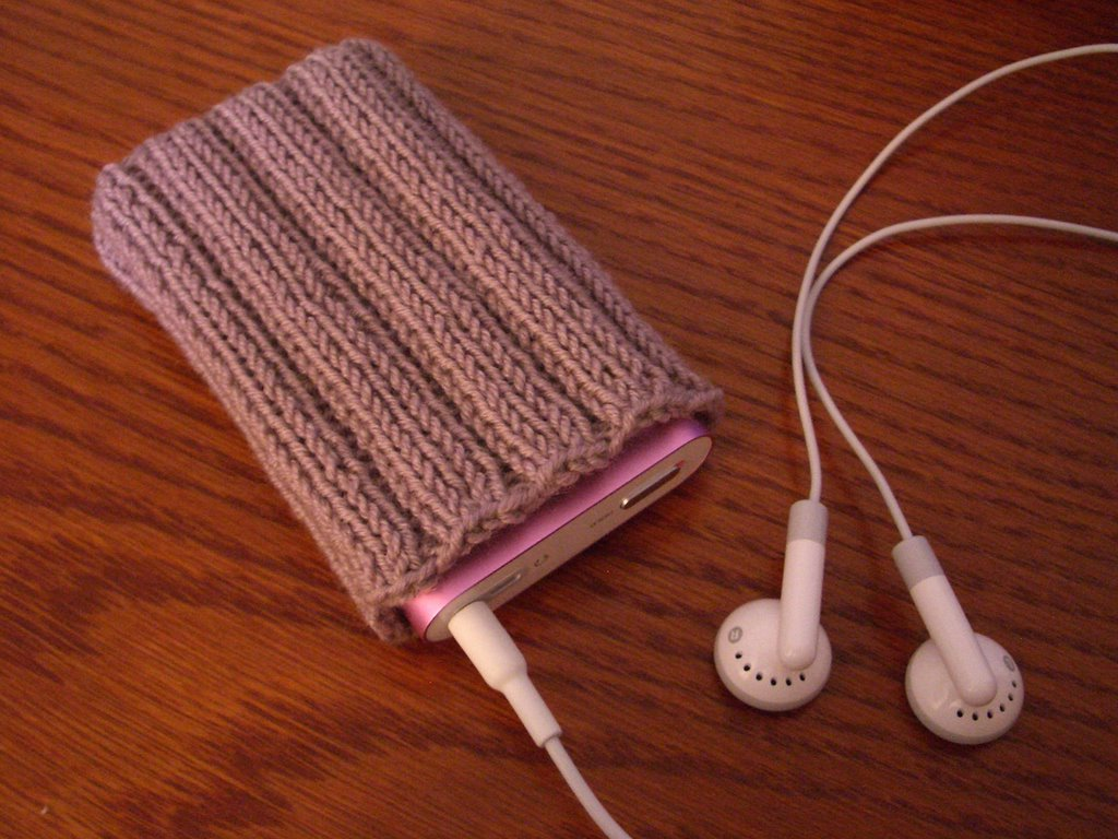 Knitting Pattern For Ipod Sock : Bumble Bee Knits: November 2005
