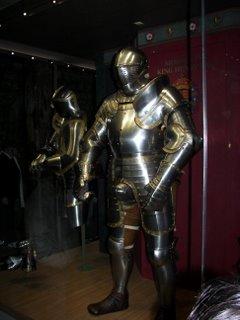 King Henry's armor