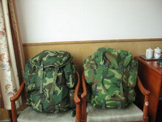 拉萨武警宾馆中的91式单兵携行具