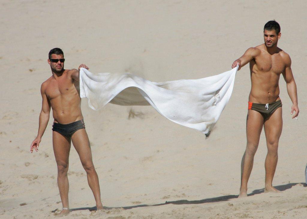 Ricky martin naked on the beach 14