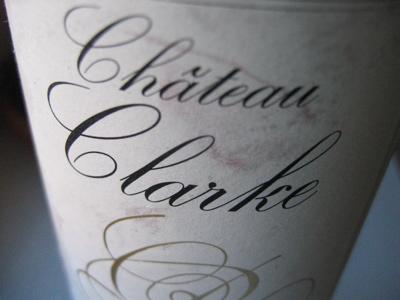 Finare vinare 2000 ch teau clarke for Chateau clarke