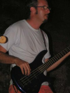 Elad plays bass