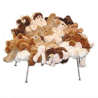 Fernando U0026 Humberto Campana Teddy Bear Chair