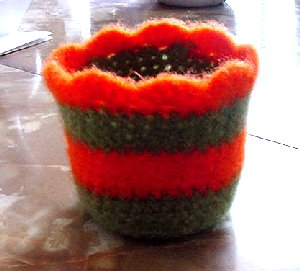 2BKnitting: Felted Bowl - Completed