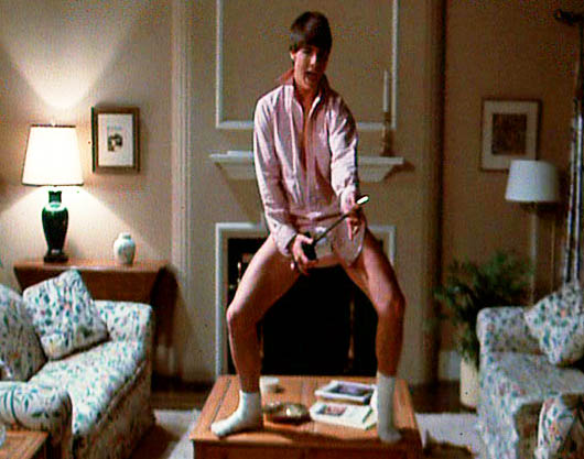 The Forbidden fruit: 10 Most Zaniest Movie Memories Tom Cruise Risky Business Dance
