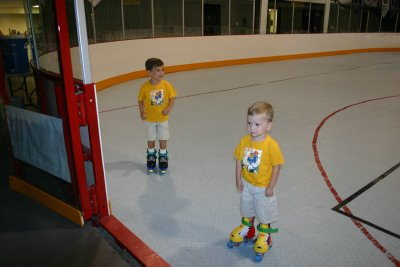 Colby had to convince Shane to skate.