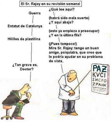 ¿Y Rajoy sabía leer?