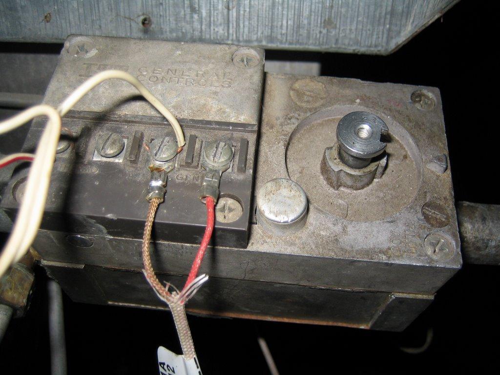 Furnace Repairon Itt General Controls Gas Valve