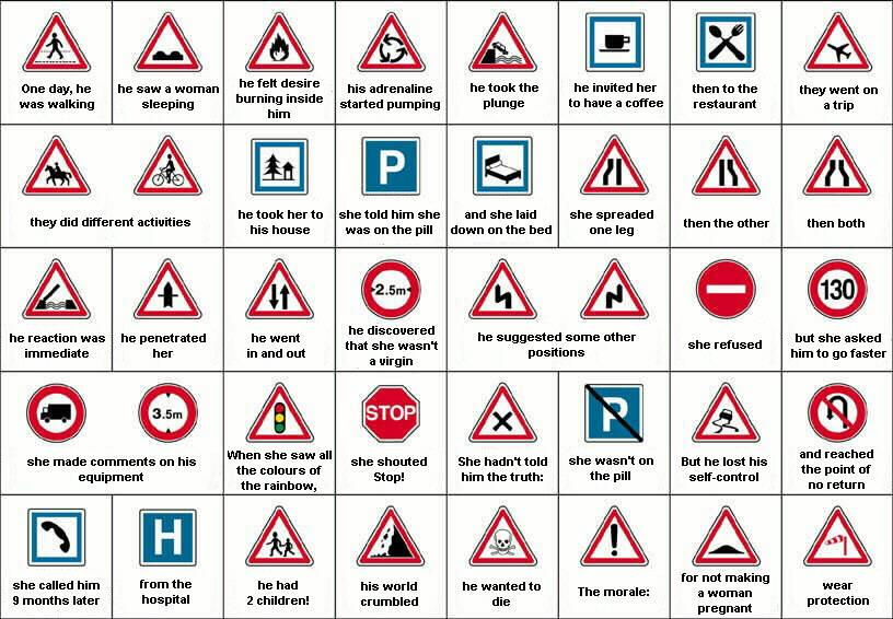 all road signs and meanings pdf