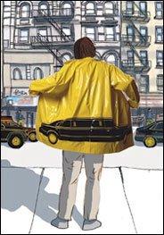 raincoat billboard