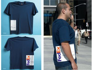 BILLBOARDOM: Creative billboards and billboard innovations: Fedex T-shirt :  funny sweet t shirt shopping