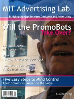 mit advertising lab magazine cover