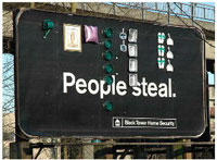 people steal billboard tbwa