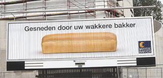 sliced bread billboard