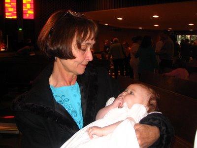Rayna with Grandma