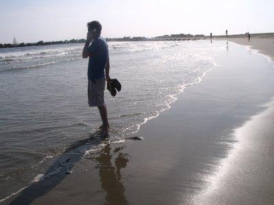 Conducting business @ Venice Beach 6/1/06