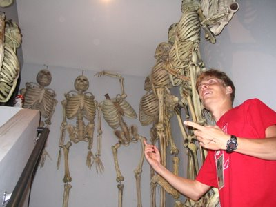 Brody shows us the skeletons in Varsity Theater's closet