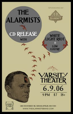 The Alarmists CD Release show @ Varsity Theater 6/9/06
