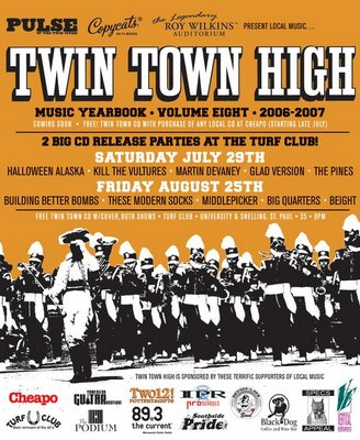 Twin Town High CD Release Party 8/25/06