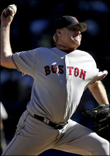 Red Sox Pitcher Curt Schilling from Boston.com
